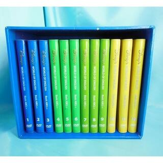 ディズニー ワールドオブイングリッシュ Basic ABC DVD12巻セット(知育玩具)
