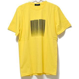 ナノユニバース(nano・universe)の新品 nano universe L メンズ Tシャツ 半袖 イエロー 黄色(Tシャツ/カットソー(半袖/袖なし))