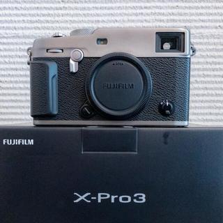 富士フイルム - FUJIFILM ミラーレス一眼カメラ X-Pro3 DRシルバー