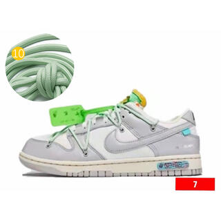 OFF-WHITE × NIKE DUNK LOW The50 適用紐 10(その他)