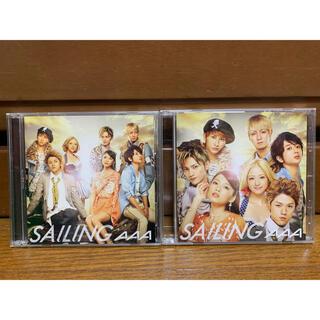 トリプルエー(AAA)のAAA CD SAILING 2枚セット(ポップス/ロック(邦楽))