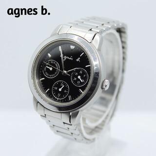 アニエスベー(agnes b.)のagnes b. アニエスベー★トリプルカレンダー レディース腕時計 訳あり(腕時計)
