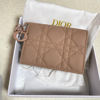 Christian Dior - Dior ディオール カードケース レディディオール カードホルダー ピンク