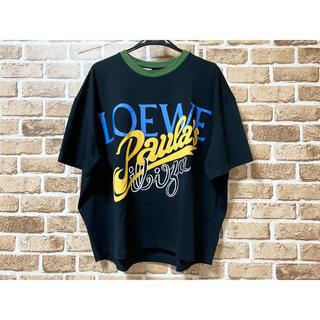 ロエベ(LOEWE)の21SS 新品 未使用 LOEWE ロエベ フロントビッグロゴ オーバー ビッグ(Tシャツ(半袖/袖なし))