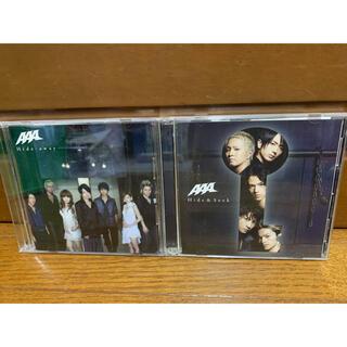 トリプルエー(AAA)のAAA CD Hide-away 2枚セット(ポップス/ロック(邦楽))