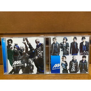 トリプルエー(AAA)のAAA CD Heart and Soul 2枚セット(ポップス/ロック(邦楽))
