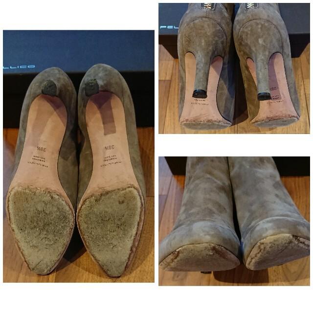 PELLICO(ペリーコ)のPELLICO ペリーコ☆Beams別注スタッズショートブーツ☆トープ 38.5 レディースの靴/シューズ(ブーツ)の商品写真