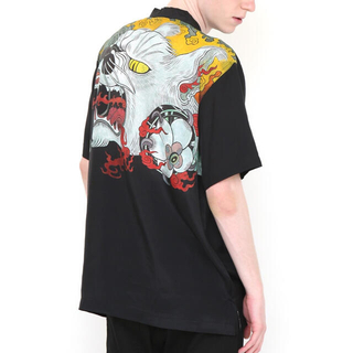 Graniph - graniph 石黒亜矢子コラボオープンカラー半袖シャツ