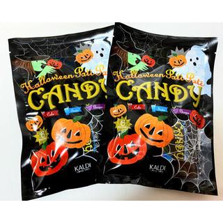 KALDI - 【再入荷!】KALDI  ハロウィン パチパチキャンディ 2袋セット