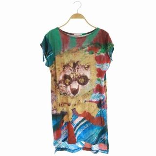 ツモリチサト(TSUMORI CHISATO)のツモリチサト TSUMORI CHISATO Tシャツ カットソー 半袖 総柄(Tシャツ(半袖/袖なし))