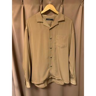 RAGEBLUE - rageblue ベージュ オープンカラーシャツ