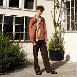 サンシー(SUNSEA)のDAIRIKU 20ss 刺繍スカシャツ 新品(シャツ)