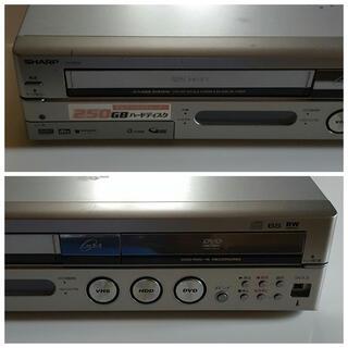 シャープ(SHARP)のSHARP!HDD&DVD&VHSレコーダー!(DVDレコーダー)