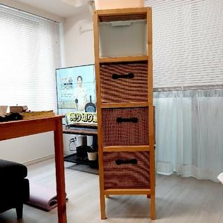 IKEA - イケア 木製収納棚 引取限定