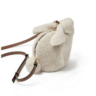 ドゥロワー(Drawer)のもこもこ mini bunny バッグ❣❣(ショルダーバッグ)