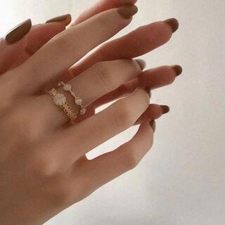 イエナ(IENA)の【セット売り】レトロフラワーリング ヴィンテージ (リング(指輪))
