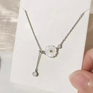 イエナ(IENA)のシルバーコスモスネックレス silver925  (ネックレス)