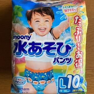 Unicharm - ムーニー 水遊びパンツ 男の子 L 10枚入