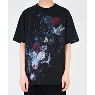 LAD MUSICIAN - lad musician 19ss 花柄Tシャツ black×dark 極美品