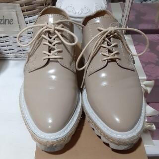 ジーナシス(JEANASIS)のジーナシス レイヤード厚底シューズ used、 Mサイズ(ローファー/革靴)