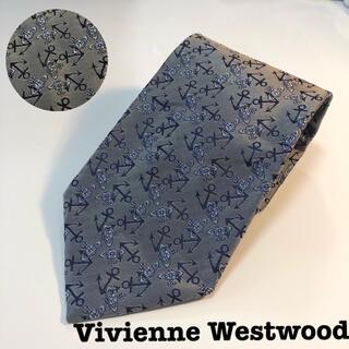 ヴィヴィアンウエストウッド(Vivienne Westwood)の美品 Vivienne Westwood 柄 ネクタイ シルク イタリア製(ネクタイ)