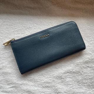フルラ(Furla)のFURLA 長財布 レザー ブルー(財布)