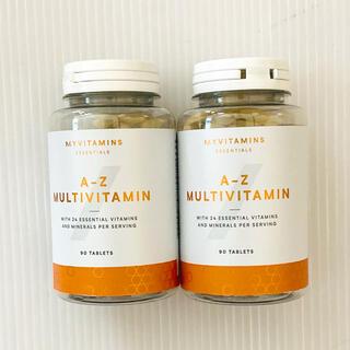 マイプロテイン(MYPROTEIN)のマイプロテイン A-Zマルチビタミン 2個(トレーニング用品)