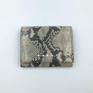 マルニ(Marni)のマルニ MARNI 財布 折り財布 小銭入れ ロゴ 名刺入れ ミニ財布(財布)