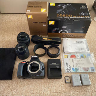 Nikon - Nikon 一眼レフ D5600 レンズキット 単焦点レンズ セット
