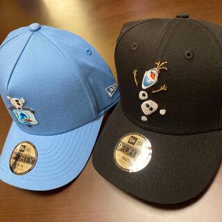 ニューエラー(NEW ERA)のNEW ERA youth オラフの帽子2個セット アナと雪の女王 日本未入荷(帽子)