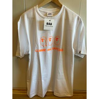 アベイシングエイプ(A BATHING APE)のA BATHING APE × COMME des GARCONS Tシャツ (Tシャツ/カットソー(半袖/袖なし))