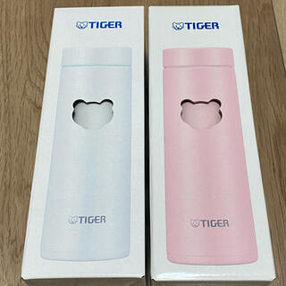 タイガー ステンレスボトル サハラ MMP-J031 2個 ピンク ホワイト(水筒)