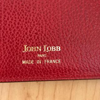 ジョンロブ(JOHN LOBB)のジョン・ロブ    パスポートケース(レッド)(その他)