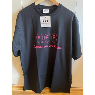 アベイシングエイプ(A BATHING APE)のA BATHING APE × COMME des GARCONS Tシャツ(Tシャツ/カットソー(半袖/袖なし))
