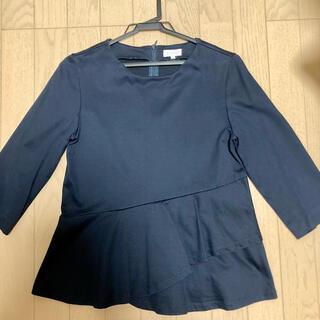 マッキントッシュフィロソフィー(MACKINTOSH PHILOSOPHY)の❤︎マッキントッシュフィロソフィー❤︎裾フリルカットソー(カットソー(長袖/七分))