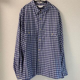 サンシー(SUNSEA)のwonderland チェックシャツ(シャツ)