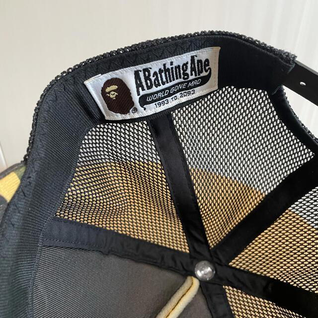 A BATHING APE(アベイシングエイプ)のA BATHING APE  ファーストカモ メッシュキャップ 1st メンズの帽子(キャップ)の商品写真