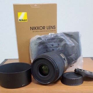 Nikon - AF-S Micro NIKKOR 60mm F2.8G ED オマケ付き