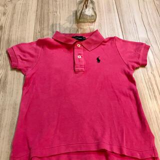 ラルフローレン(Ralph Lauren)のラルフローレン  ポロシャツ ロゴ ネイビー 90cm ピンク(その他)
