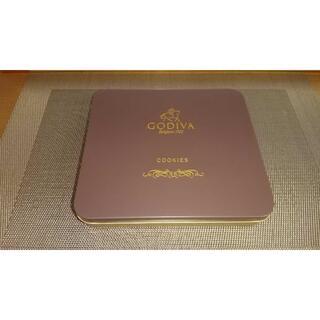 GODIVA☆ ゴディバ クッキー缶(収納/キッチン雑貨)