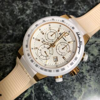 フェラガモ(Ferragamo)のフェラガモ F-80 クロノグラフ 腕時計 美品 (腕時計(アナログ))