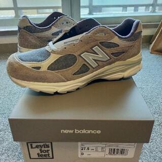 """ニューバランス(New Balance)のニューバランスM990LV3 """"GREY""""×LEVI'S (スニーカー)"""