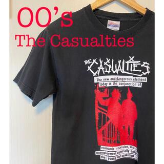 ミルクボーイ(MILKBOY)のThe Casualties Tシャツ カジュアリティーズ パンク バンド 古着(Tシャツ/カットソー(半袖/袖なし))