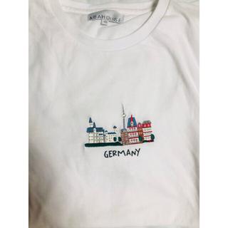 アバハウス(ABAHOUSE)のABAHOUSE Tシャツ 【展開店舗限定】CITYカラー刺繍 半袖Tシャツ(Tシャツ/カットソー(半袖/袖なし))