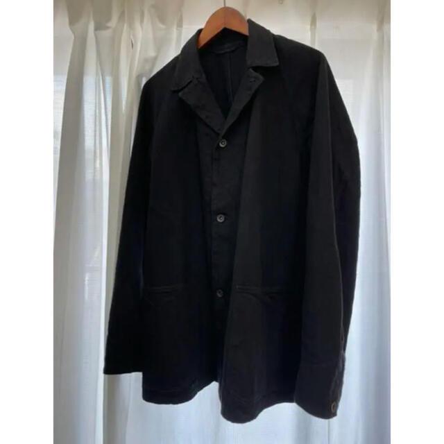 COMOLI(コモリ)のCOMOLI コモリ デニムワークジャケット 21SS  ブラック  サイズ2 メンズのジャケット/アウター(Gジャン/デニムジャケット)の商品写真