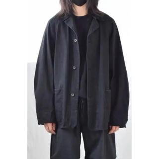コモリ(COMOLI)のCOMOLI コモリ デニムワークジャケット 21SS  ブラック  サイズ2(Gジャン/デニムジャケット)