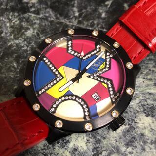 ドレスキャンプ(DRESSCAMP)のドレスキャンプ コラボ エンジェルクローバー 100本限定 腕時計 レア 美品(腕時計(アナログ))