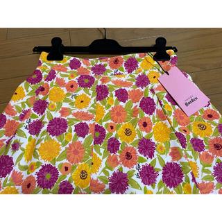 グッチ(Gucci)の期間限定●GUCCIグッチ×KenScott花柄スカート42新品(ひざ丈スカート)