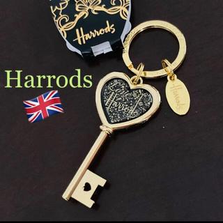ハロッズ(Harrods)のHarrods ハートキーリング❤️ チャーム《新品タグ付き》【送料込み】(チャーム)