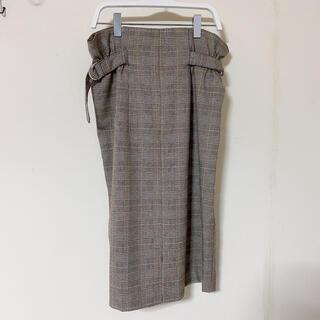 ヴィス(ViS)のVis / チェックスカート(ひざ丈スカート)